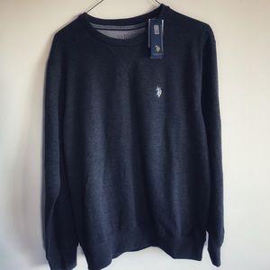 ❤️NWT U.S. POLO ASSN. Sweatshirt, Gray, M